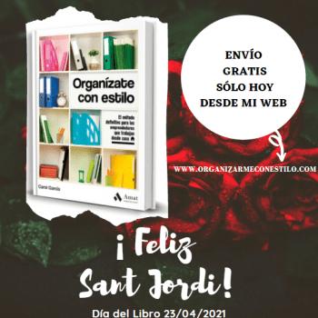 Sant Jordi, día del libro 2021