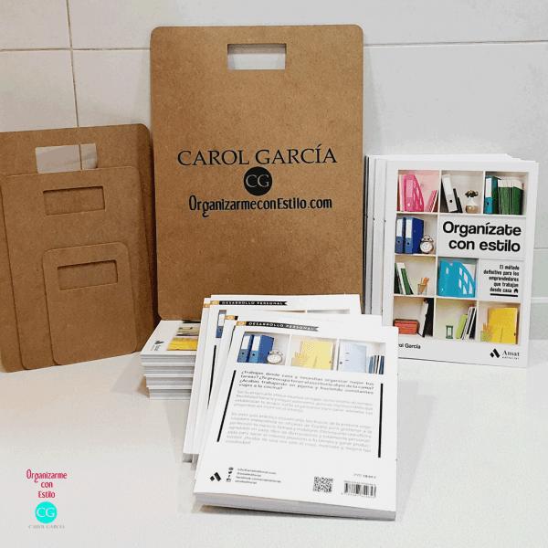 Libro de organización y tablas de doblado de regalo