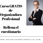 Curso Organizador Profesional GRATIS